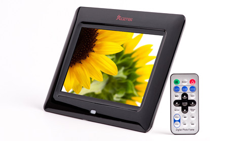XElectron 7 Inch Digital Photo Frame with Remote | XElectron