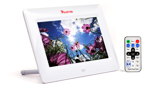 XElectron 7 Inch Digital Photo Frame 700PS (White) | XElectron