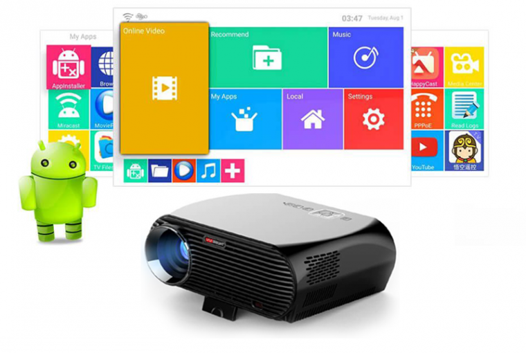 XELECTRON GP100UP ANDROID PROJECTOR