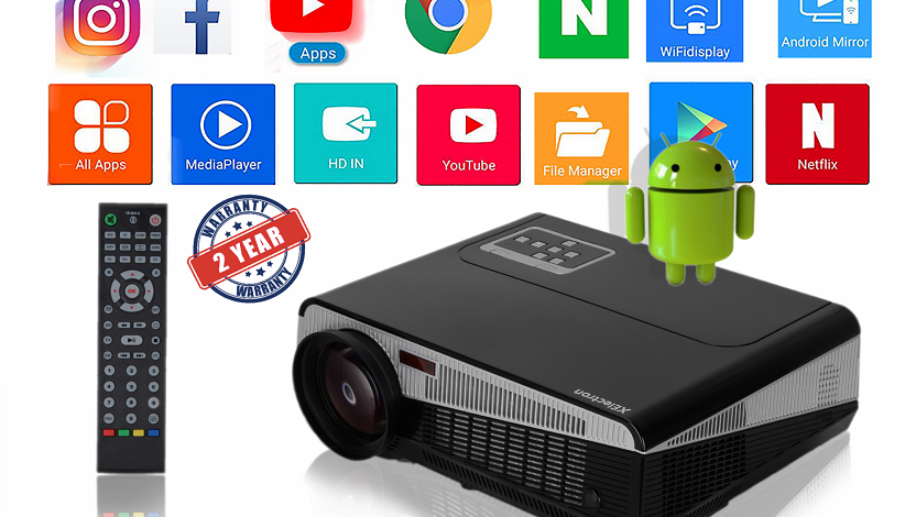 XElectron® SM86+W Smart Projector