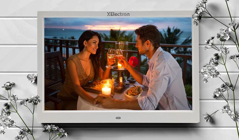 XElectron 12-inch IPS Display Digital Photo Frame